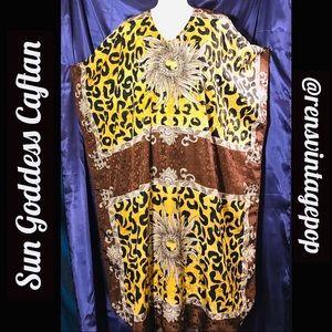 Dresses & Skirts - High Priestess of Groove  Leopard Caftan
